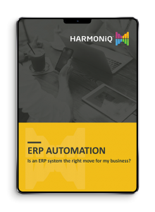 ERP Automation for your business ebook