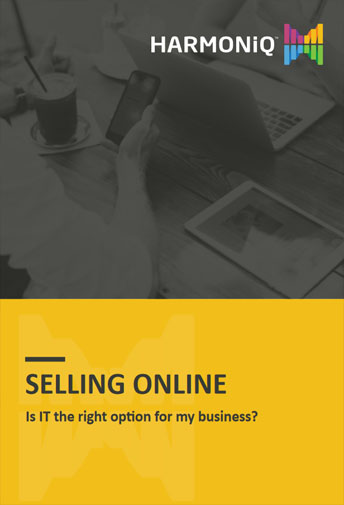Selling online using an all-in-one business software
